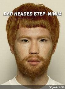 Red headed step-Ninja